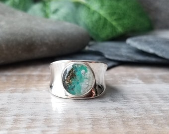 Anchorage, Alaska Sterling Silver Ring