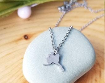 Small Alaska Charm Necklace