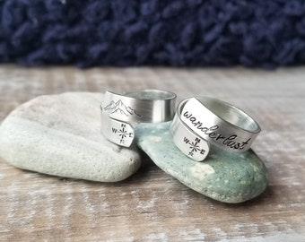 Compass Wrap Ring