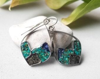 Alaska Mountain Range Earrings