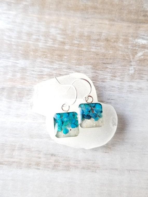 Kwajalein, Sterling Silver Dangle Earrings