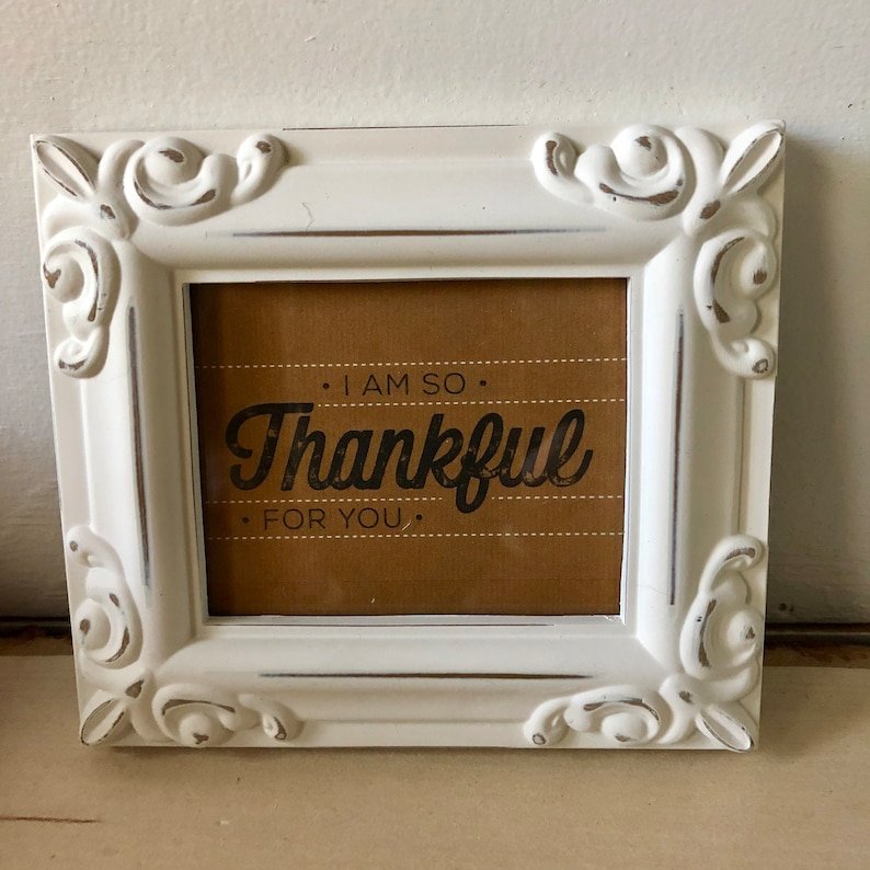 Large THANKFUL GIFT BOX happy fall y/'all