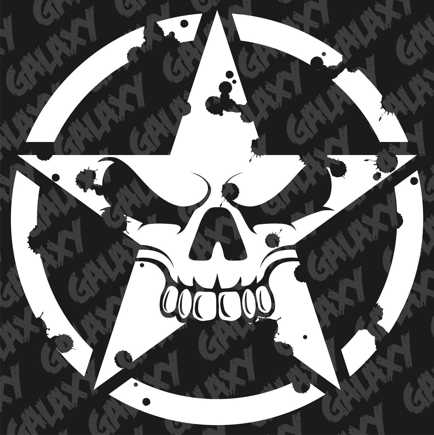 jeep wrangler decal kit sticker set bumper army star skull etsy Badass Jeep Wrangler 50