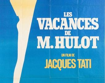 MON ONCLE JACQUES TATI A3 A2 FRENCH FILM POSTER REPRINT