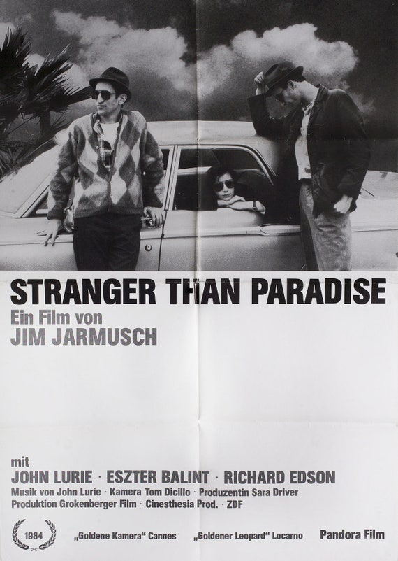Stranger Than Paradise 1984 German A1 Poster | Etsy