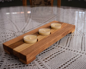 Wooden Candle Holder, Rustic Candle Holder, Home Decorations, Handmade, Candle Holder, Wood Candle Holder, Tealight Holders, Handmade Holder