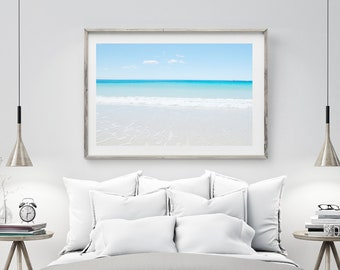Bay of Fires Australia Ocean Print, Digital Download Large Wall Art Prints, Beach Decor Nautical Decor, Ocean Photography Seascape Printable