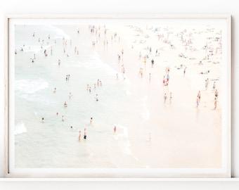 Beach Wall Art, Aerial Beach Photography Prints, Large Wall Art Prints, Downloadable Prints, Ocean Print,Coastal Wall Art,Printable Wall Art