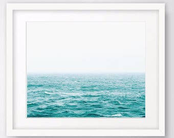 Ocean Photography Large Wall Art Prints, Coastal Photography, Beach Decor, Nautical Decor Instant Download Digital Prints Seascape Printable