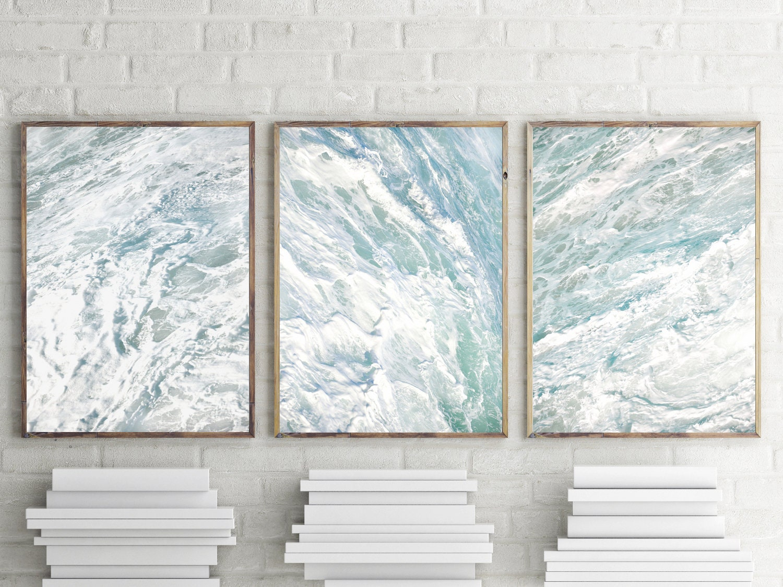 Bathroom Wall Decor Nautical Decor Set Of 3 Prints