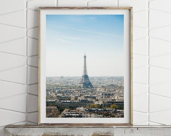 Paris Print, Eiffel Tower France, Paris Wall Art Large Wall Art Prints Downloadable Art Paris Poster French Decor Printable Digital Download
