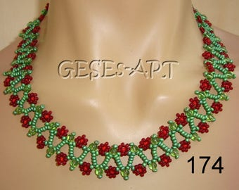 Flower Net Necklace