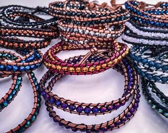 The double crystal bracelet
