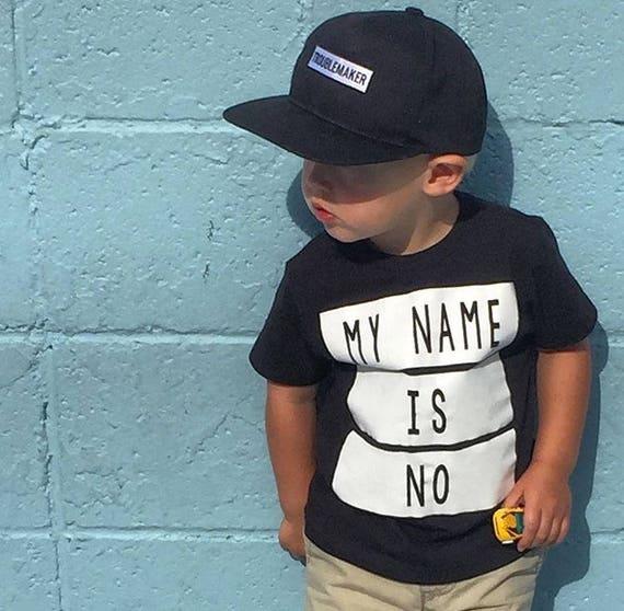 TROUBLEMAKER Toddler   Kids Snapback Hat Kids Trucker Hat  e04e8dab342