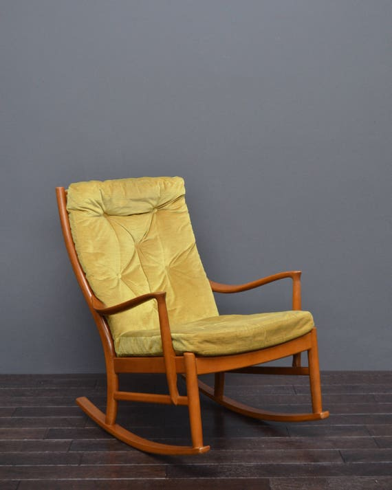 Pleasing Original Vintage Retro Mid Century 1960S Green Rocking Chair By Parker Knoll Onthecornerstone Fun Painted Chair Ideas Images Onthecornerstoneorg