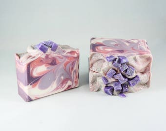 Sugarplum Fairy   Handcrafted Artisan Soap   XL Size   Luxury   Gift for Her    Holiday Collection   Christmas   Free Shipping
