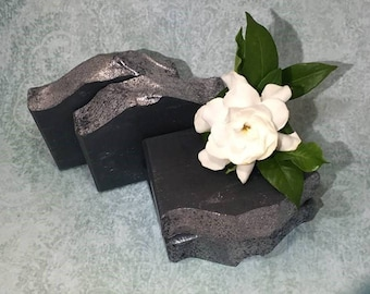 Dr. Peppermint   Handcrafted Artisan Soap   Activated Charcoal   Cold Process   Palm Free   Vegan   Luxury Soap