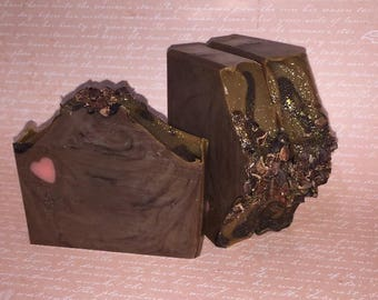 I Love You A Choco-Lot   Handcrafted Artisan Soap   Cold Process   Palm Free   Luxury Soap   Gift for Her   Valentines Day Gift