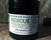 Wildly Whipped Himalayan Pink Sea Salt Scrub - Rescue Sore Muscle Scrub - Arnica Oil, Eucalyptus, Peppermint, Lavender Lemon