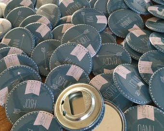 individual button 5.9 cm (pin, mirror, magnet, bottle opener...)