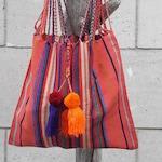 Hand-woven tote bag, Mexico - Handmade - Crafts - Ethics - Ecological - Fair trade - Weaving - Beach