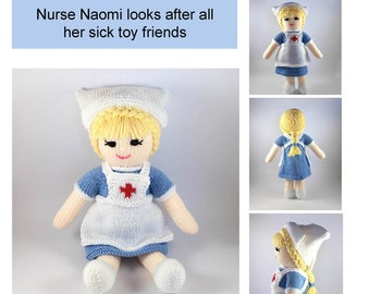 Amigurumi Nurse Cat Crochet Free Pattern - Crochet & Knitting | 270x340