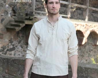 Burgschneider Medieval Pirate Cotton Shirt Tristan