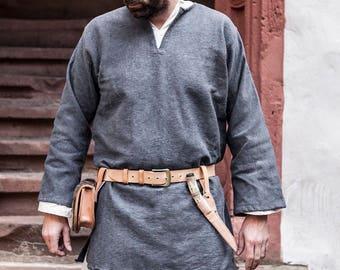 Viking Tunic Erik Medieval Cotton by Burgschneider