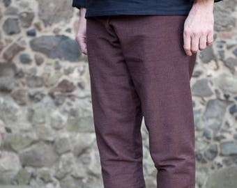 Burgschneider Medieval Viking Larp Thorsberg Pants Cotton Ragnar