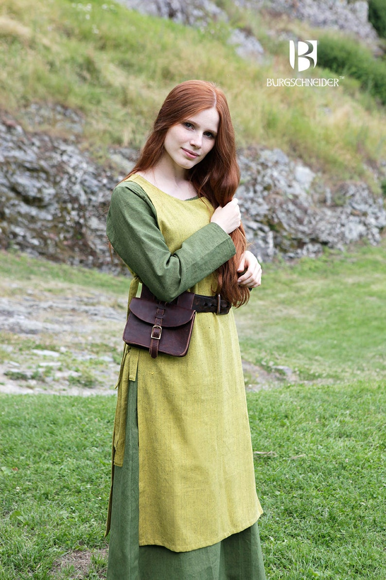Burgschneider Medieval Viking Larp Cotton Garment Haithabu