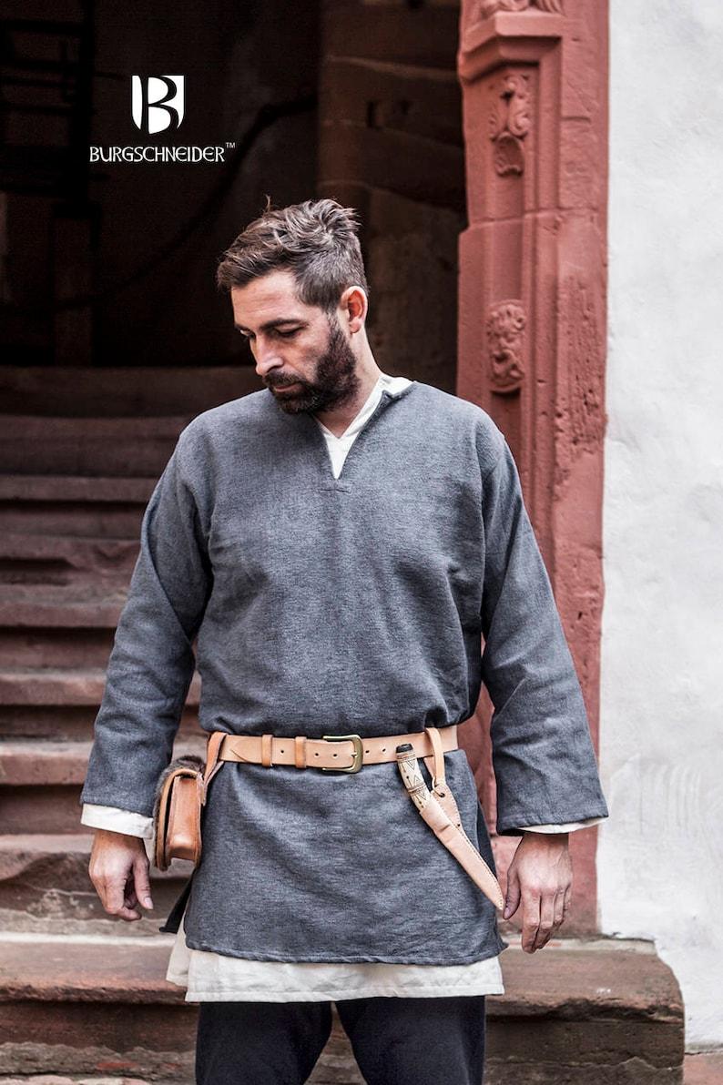 Viking Tunic Erik Medieval Cotton by Burgschneider image 0