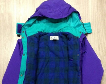 LL Bean Vintage Ski/Snow Jacket - Women's Size Small