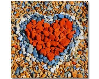 Love Heart - Canvas
