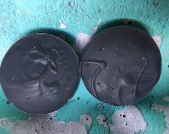 Charcoal Tea Tree Facial Soap- Activated Charcoal - Tea Tree - Tamanu Oil - All Natural