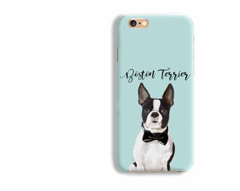 BRGiftShop Personalize Your Own I Love My Dog Boston Terrier Rubber Phone Case For Samsung Galaxy Note 9