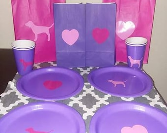 VS Pink party supplies