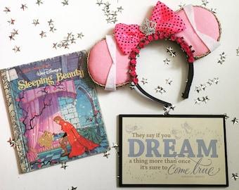 Sleeping Beauty Princess Inspired Mouse Ears