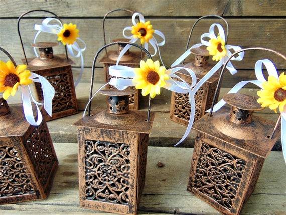 Mylovelyweddingday Set Of 10 Rustic Mini Wedding
