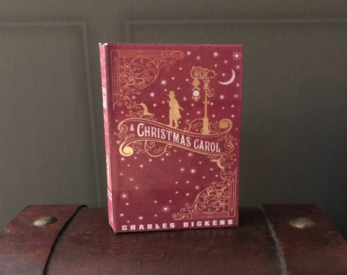 1:3 Scale Charles Dickens A Christmas Carol  doll sized mini book for 18 inch American Girl Dolls