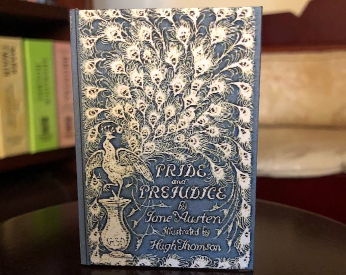 1:3 Scale Jane Austens Pride and Prejudice doll sized mini book for American Girl Dolls