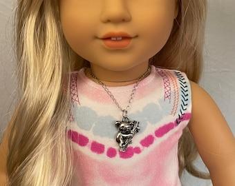 Silver Koala Necklace for American Girl Kira Bailey Girl of the Year 2021