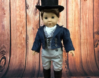 19th Century Regency Era Outfit for American Girl 18 Inch Dolls - Made To Order
