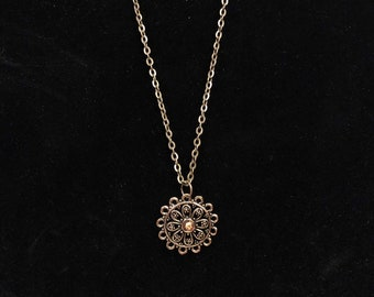 Sun Charm Necklace for American Girl Dolls