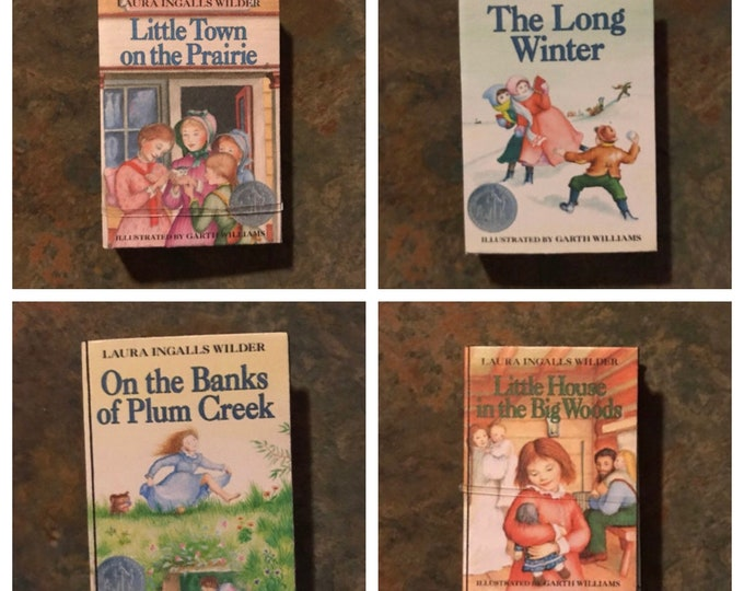 Little House On The Prairie 1:3 Scale Mini Books for American Girl Dolls