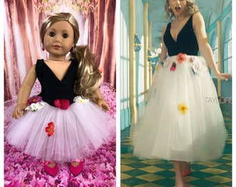 Taylor Swift ME! Inspired Dress for American Girl Dolls - Made to Order