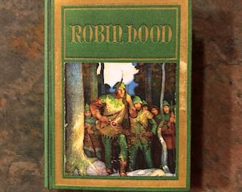 1:3 Scale Robin Hood doll sized mini book for American Girl Dolls