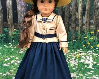 Custom Order - Little Women inspired Jo March beach dress