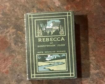 Rebecca of Sunnybrook Farms doll sized mini book for American Girl Dolls