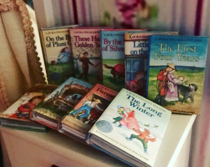Little House on the Prairie Mini Books for American Girl 18 inch Dolls