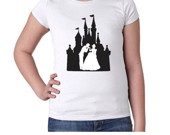 Castle Princess Girls Tshirt